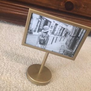 NWT gold photo frame